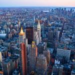Typsches Beispiel urbaner Ordnung , New York,
