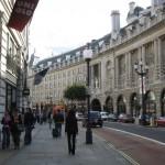 Regent Street London klar definierter Raum