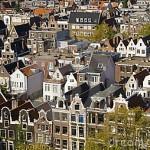 Typisches Beispiel von urbaner Ordnung Amsterdam