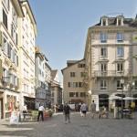 Niederdorf Zürich klar definierter Raum