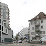 Typisches Beispiel von urbaner Unordnung Oerlokon