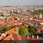 Typisches Beispiel von urbaner Unordnung Prag