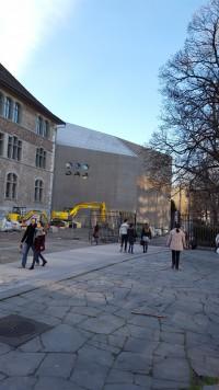 Ansicht Erweiterungsbau Landesmuseum Zürich