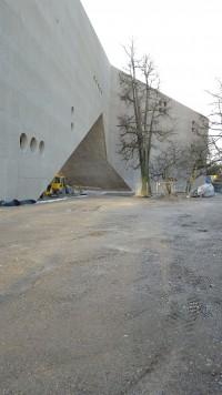 Ansicht Februar 2016 Erweiterungsbau Landesmuseum Zürich