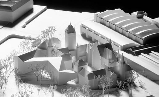Modell Erweiterung Landesmuseum Zürich